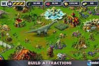 Pantalla Jurassic Park Builder