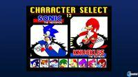 Pantalla Sonic the Fighters PSN
