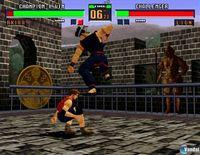 Pantalla Virtua Fighter 2 PSN