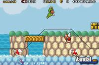 Pantalla Super Mario Advance 4: Super Mario Bros 3