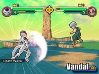 Pantalla Dragon Ball Z: Budokai 2