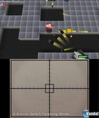 Pantalla Touch Battle Tank 3D eShop