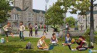 Pantalla Los Sims 3 Movida en la Facultad
