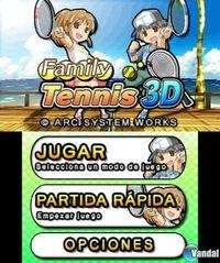 Family Tennis 3D eShop