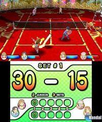 Pantalla Family Tennis 3D eShop