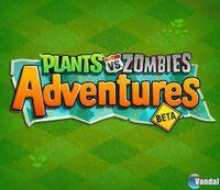 Pantalla Plants vs Zombies Adventures