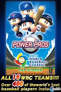 Pantalla PowerPros 2013 World Baseball Classic