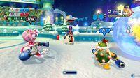 Pantalla Mario & Sonic en los Juegos Olímpicos de Invierno Sochi 2014
