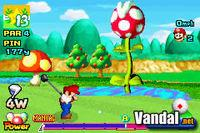 Pantalla Mario Golf Advance Tour