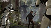 Leia, Han Solo and show their appearance Palpatine in Star Wars: Battlefront