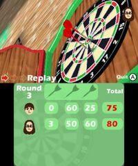 Pantalla Darts Up 3D eShop