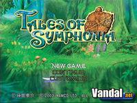 Pantalla Tales of Symphonia