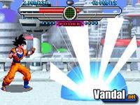 Pantalla Dragon Ball Z: Taiketsu