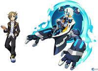 New images and Illustrations Azure Striker Gunvolt