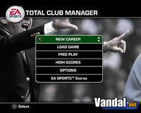 Pantalla Total Club Manager 2004