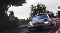 Milestone detailing the Thrustmaster flyers and accessories compatible with Sébastien Loeb Rally EVO