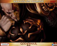 Gaming Heads presents a figure Kratos, God of War