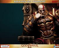 Gaming Heads presents a figure of Kratos, God of War