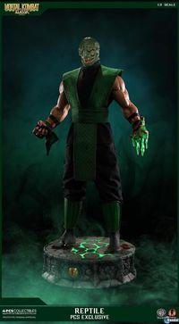 Mortal Kombat will feature a limited edition sculpture Reptile
