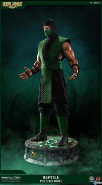 Mortal Kombat will have a limited edition sculpture Reptile