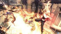 Lady showing their fighting skills in Devil May Cry 4: Special Edition