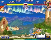 Pantalla Hyper Street Fighter 2