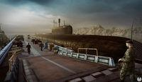 The game Kursk introduces us to the town of Vidyayevo
