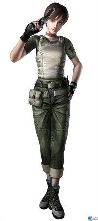 This is playing with Resident Evil HD Remaster Zero