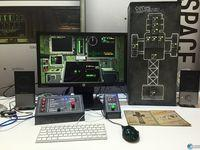 Create your own physical controls for the game space Objects in space