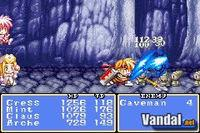 Pantalla Tales of Phantasia