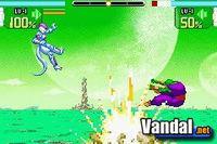 Pantalla Dragon Ball Z: Supersonic Warriors
