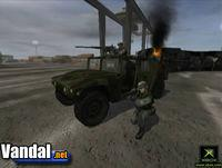 Pantalla Battlefield 2 Modern Combat