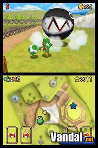 Pantalla Super Mario 64 DS