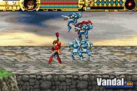 Pantalla Advance Guardian Heroes