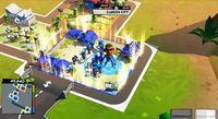 Megalo Polis commitment to political satire and real-time strategy
