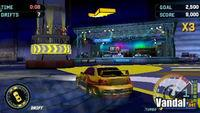 Pantalla Need for Speed Underground Rivals