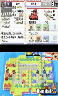 Pantalla Advance Wars Dual Strike