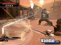 Pantalla Samurai Western