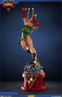 Pop Culture Shock Toys presents its figures Street Fighter V