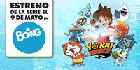 The animated series Yo-Kai Watch begin airing in Spain on May 9
