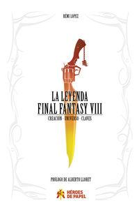 book Now available Legend Final Fantasy VIII