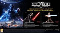 Revealed the appearances of The last Jedi in Star Wars Battlefront II