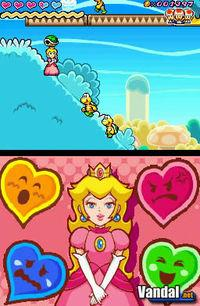 Pantalla Super Princess Peach