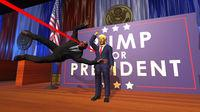 this is Mr. President!, a game for the PC in which we are the bodyguard of Donald Trump