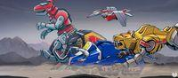 Pantalla Mighty Morphin Power Rangers: Mega Battle