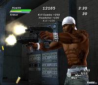 Pantalla 50 Cent: Bulletproof