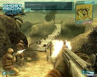 Pantalla Tom Clancy's Ghost Recon Advanced Warfighter
