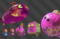 Splatoon 2 presents the enemies of his campaign mode