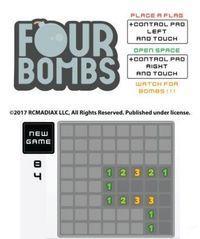 Pantalla Four Bombs