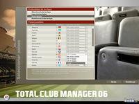 Pantalla Total Club Manager 2006